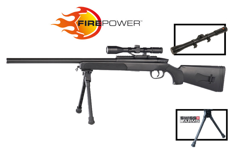 Sniper Firepower Black Eagle M6