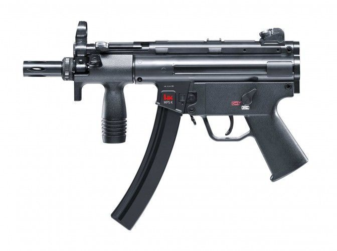 Pusca airsoft MP5K Umarex CO2 Heckler & Koch