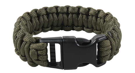 Bratara paracord Deluxe OLIVE