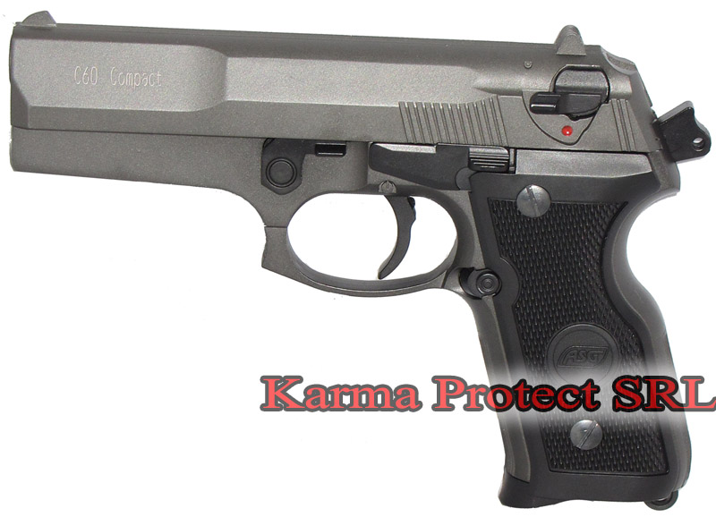 Pistol airsoft- C60 Compact -Full Metal