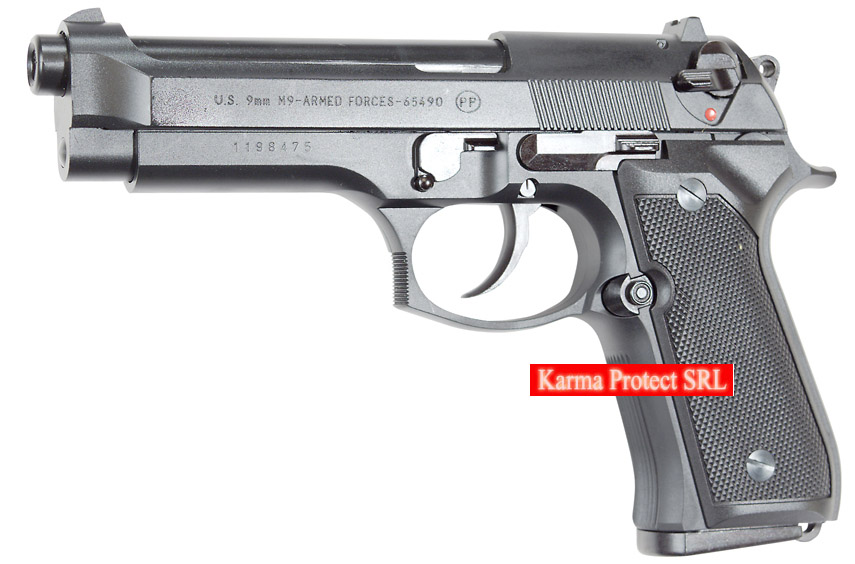 Pistol airsoft- BERETTA M9 -Full Metal